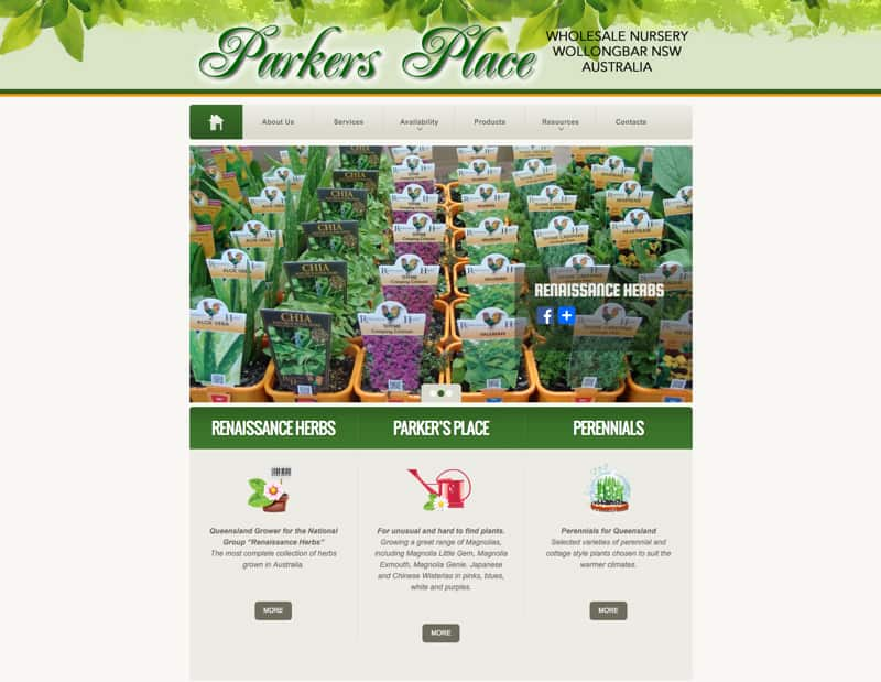 Parkers Place Nursery
