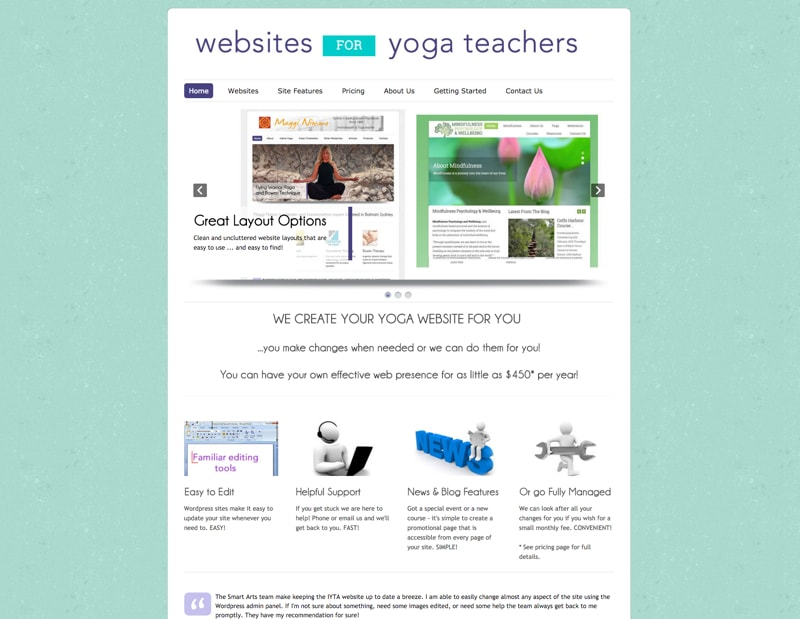 Websites for Yoga Teachers